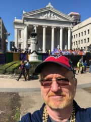 New Orleans at Mardi Gras.  Spent my high school years here.