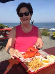 Maine lobster at Two Lights Lobster Shack.