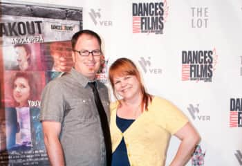 Craig and I on the red carpet for a movie we were both a part of