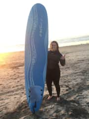 Miss my foam board! Have some great memories learning how to surf on it