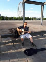 Busking in Montreal