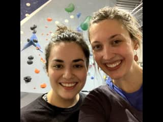 Weekly climbing sessions.