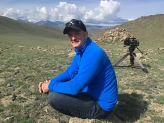 Under the great skies of Mongolia