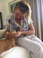 Deb and Ginger in Malaysia