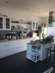 Our open kitchen