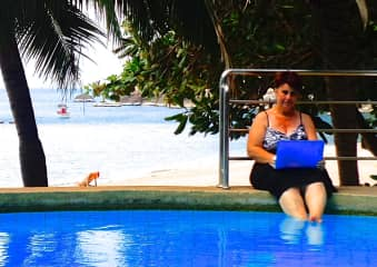A Digital Nomad can work everywhere