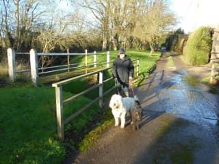 Walking in Suffolk