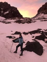 Janet also climbed Mt Toubkal, the highest peak in the Atlas Mountains, Morocco.... on her 50th birthday.
