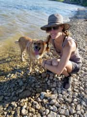 Moxie is my main squeeze and one of my favorite dogs to spend time with.  She loves the water and so do I.