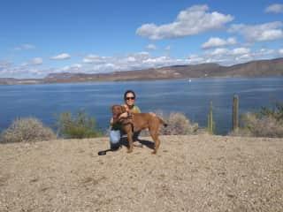 My dog Tucker and I