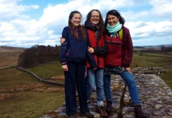 Anja, with Gail & Reika