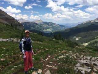 Hiking at 11,000 feet