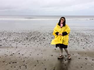Me visiting Haida Gwaii, BC Canada