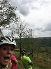 Mountainbiking in the Ardennes Belgium