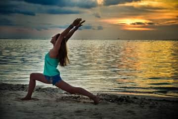 Yoga in Gili air