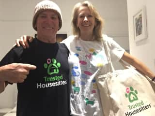 Very happy trusted house sitters
