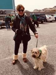 We walked for the Coastal Humane Society in the parade