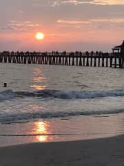 I enjoy photography and love the beach. This is the pier down the street from my home in Naples, FL