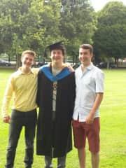 The Three Amigos -  Luke, Mark and Daniel