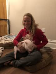 We have taken care of pet pigs too!