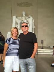 Washington - part of our 30th Wedding Anniversary
