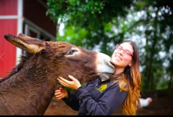 Visiting Leilani Farm Animal Sanctuary on Maui, Hawaii!