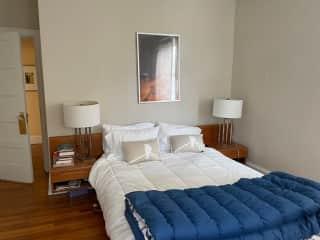 Main Bedroom, mid century furniture