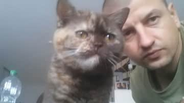 This is Luna and me one more time