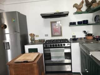 Kitchen....adequate but no dishwasher