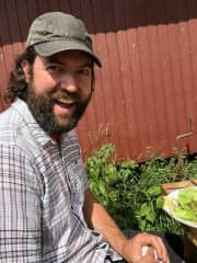 John is studying regenerative agriculture