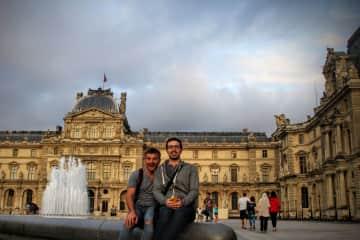 Jack and Adam in Paris