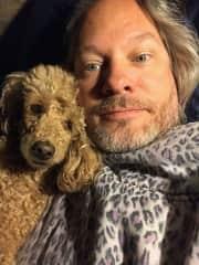 My best friend Ziggy and me