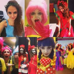 Clowning and acting fun gigs