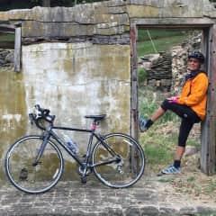 Break from bike ride