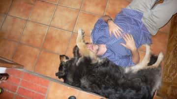 Mapacha... such a cuddler