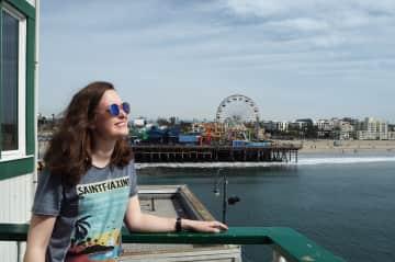 Maja, Santa Monica Pier.