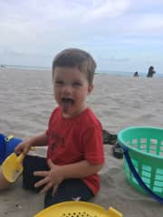 Our son, Ryder (2 years old) in Miami, Florida