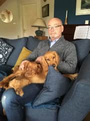 Tony and the dogs