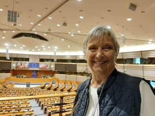Me again, this time at the European Parliament