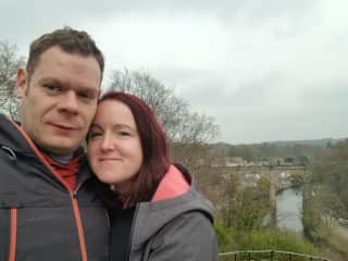 Stu & Emma on holiday