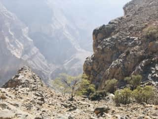 Mountains in Oman