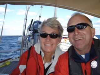 Offshore sailing to Antigua