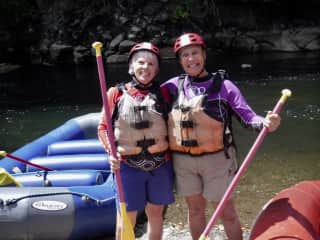 Winter of 2019, pre-covid, we spent a day on the rapids in Panama!