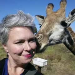 Being *kissed* in South Africa