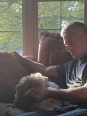 Tom and Baxter (Mr. B)