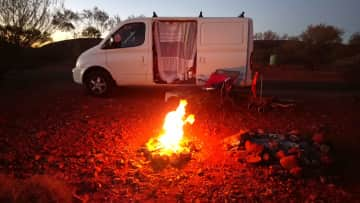 Travelling solo across Australia...