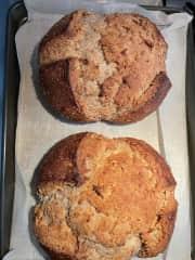 I love to bake bread