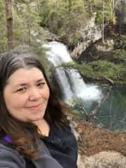 My favorite thing to see are waterfalls!