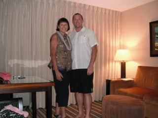 John and Lisa in Maui Hawaii