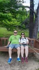 Husband and myself